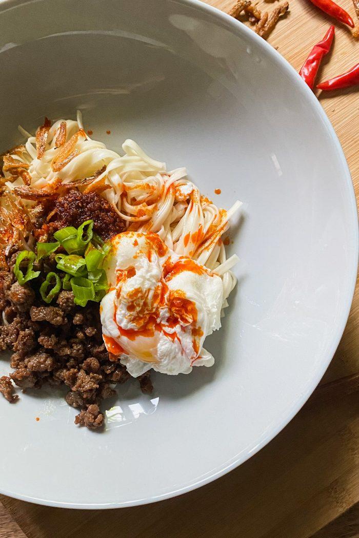 Malaysian Chili Pan Noodles