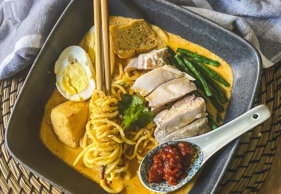 Malaysian Curry Kari Laksa