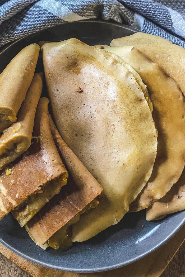 Apam Balik (Malaysian Pancake Turnover)
