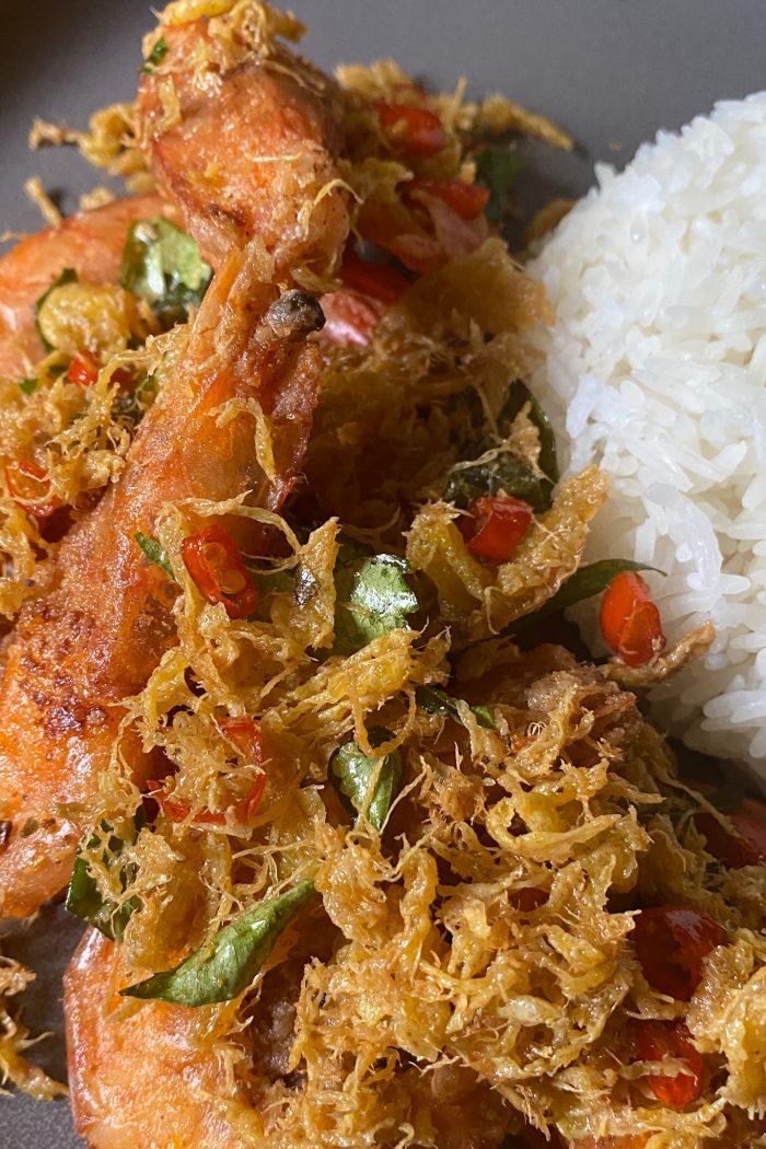 Malaysian Fried Butter Shrimp/Prawn