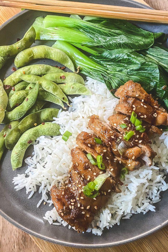 Easy 15-Minutes Chicken Teriyaki (No Mirin and Sake)