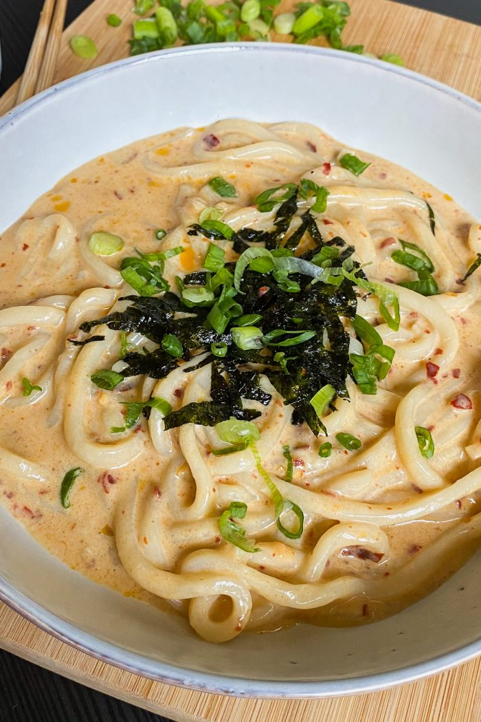 10-minute Spicy Cheesy Udon