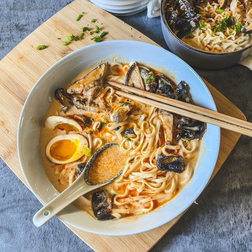 vegan spicy miso ramen easy quick 20 minutes