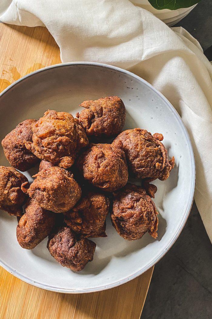 Jemput-Jemput Pisang/Cekodok (Deep Fried Banana Balls)