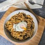easy scallion oil noodles