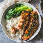 Miso Garlic Butter Salmon easy