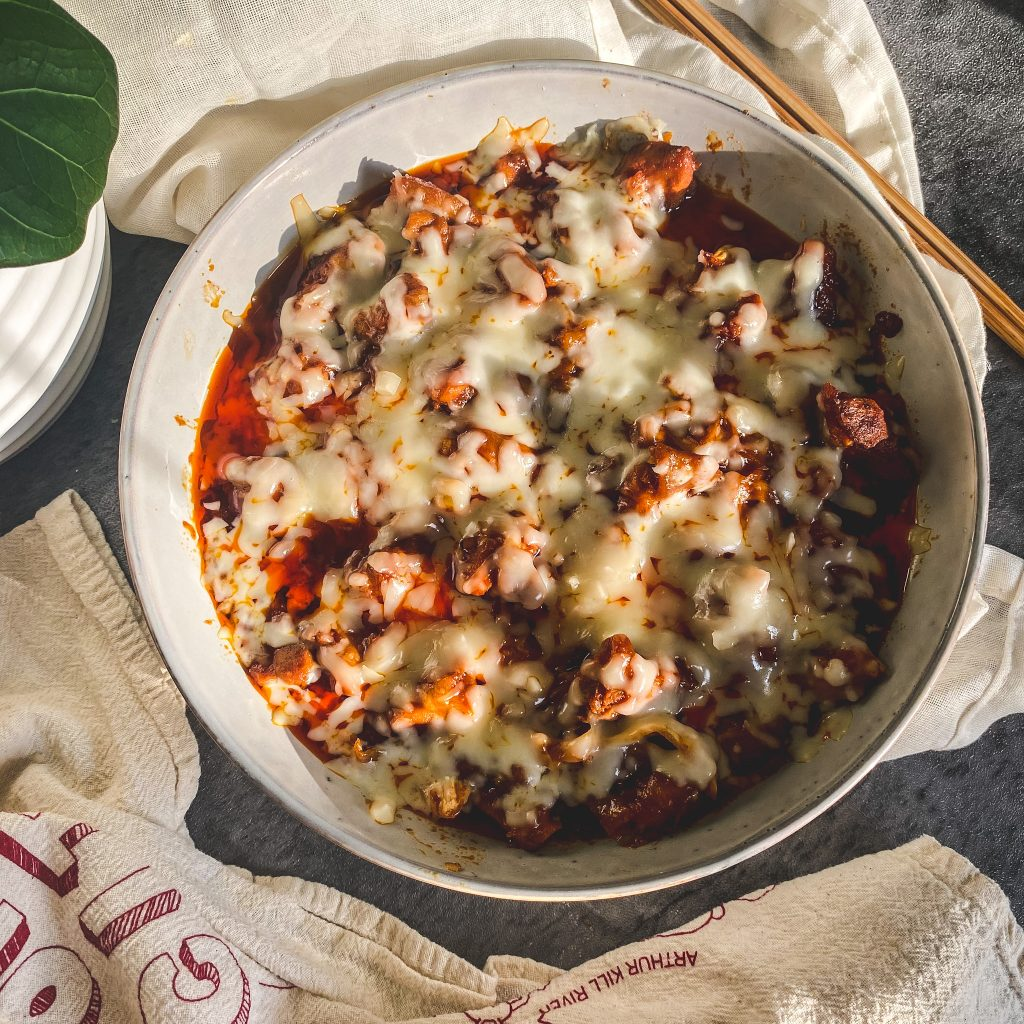 cheese buldak spicy fire chicken cheese